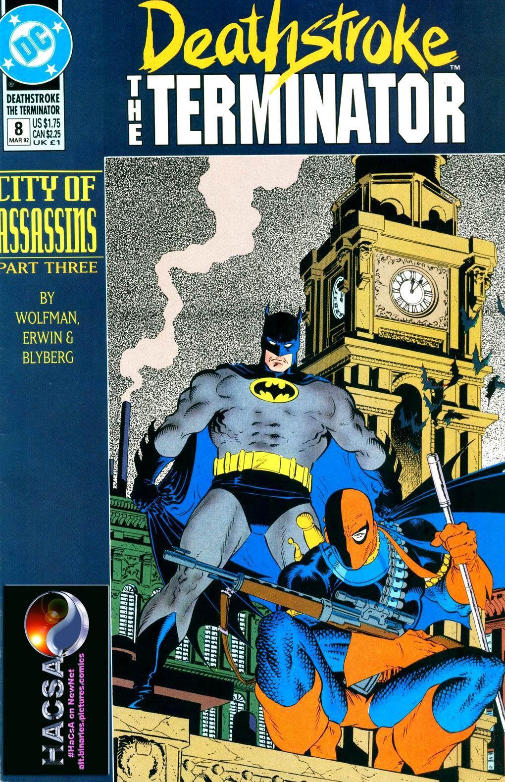 Deathstroke (1991) Issue #8 #13 - English 1