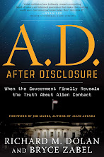 Up to speed on UFOs, intelligent visitors? Revised A.D. After Disclosure book released in May
