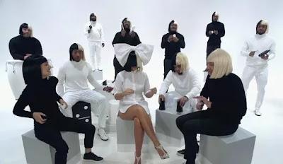 Sia canta com Natalie Portman e Jimmy Fallon na TV