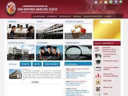 Resultados examen UNSAAC 2014 I Examen Universidad Nacional San Antonio Abad del Cuzco UNSAAC 30 de Marzo