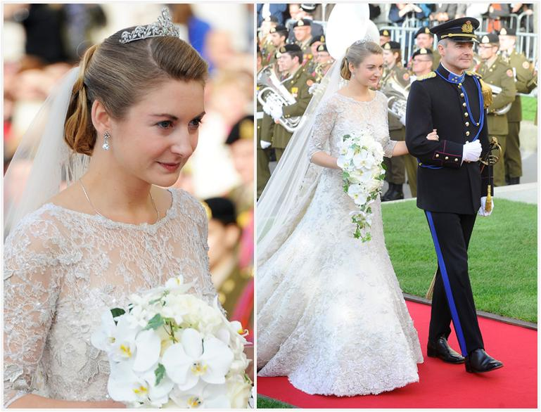 The Royal Order Of Sartorial Splendor The Luxembourg Royal Wedding The Bride And Bridal Party