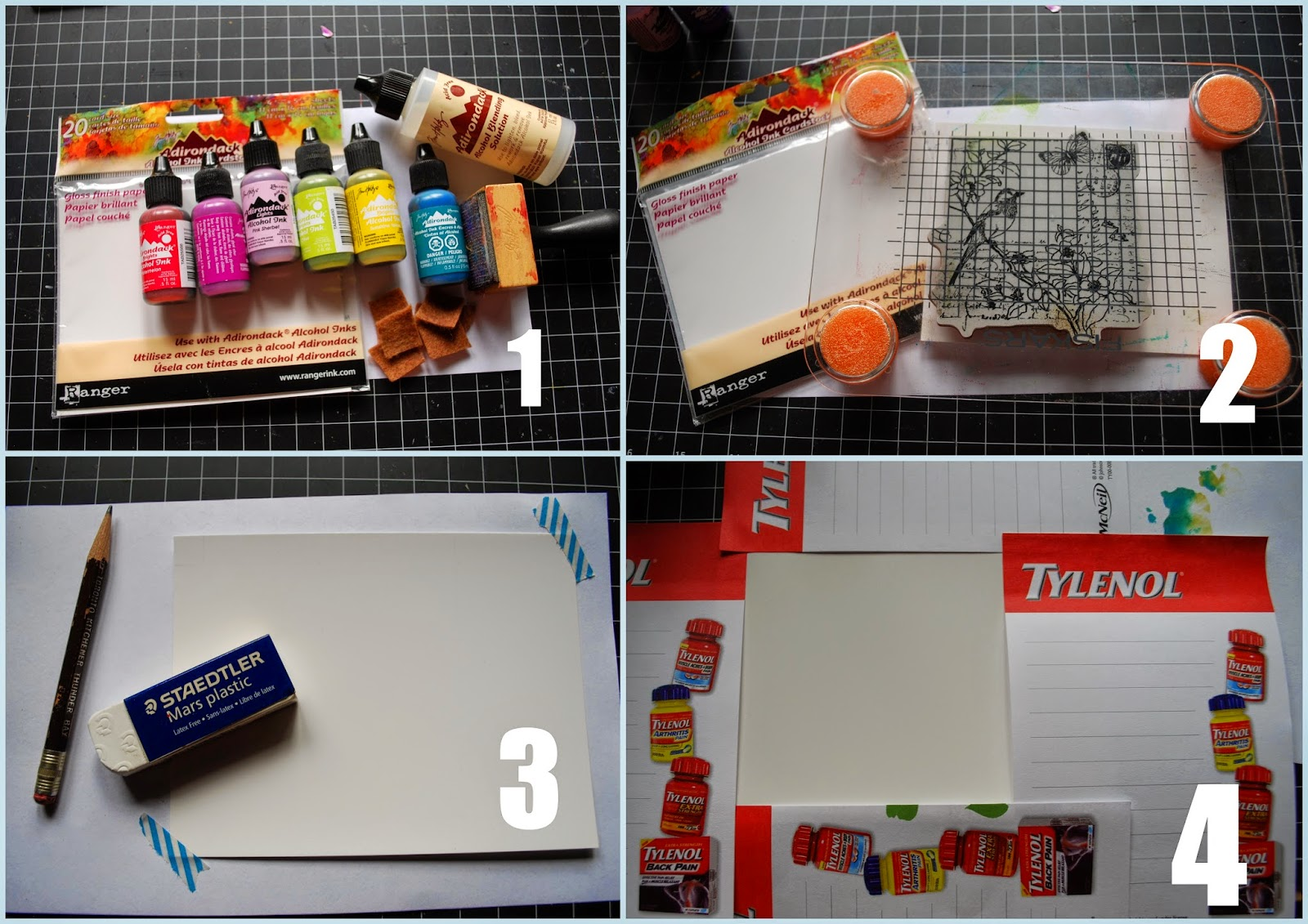 Yes virginia alcohol inks tutorial with a video gather supplies alcohol inks more alcohol inks were used not shown in photo glossy paper alcohol ink blending solution felt scraps michaels ink baditri Images