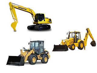 Alat Berat Backhoe, Wheel Loader dan Backhoe Loader