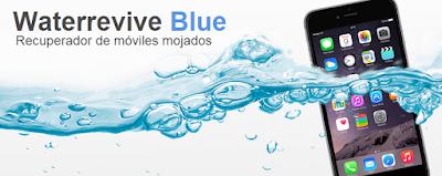 Kit para reparar smartphones mojados.