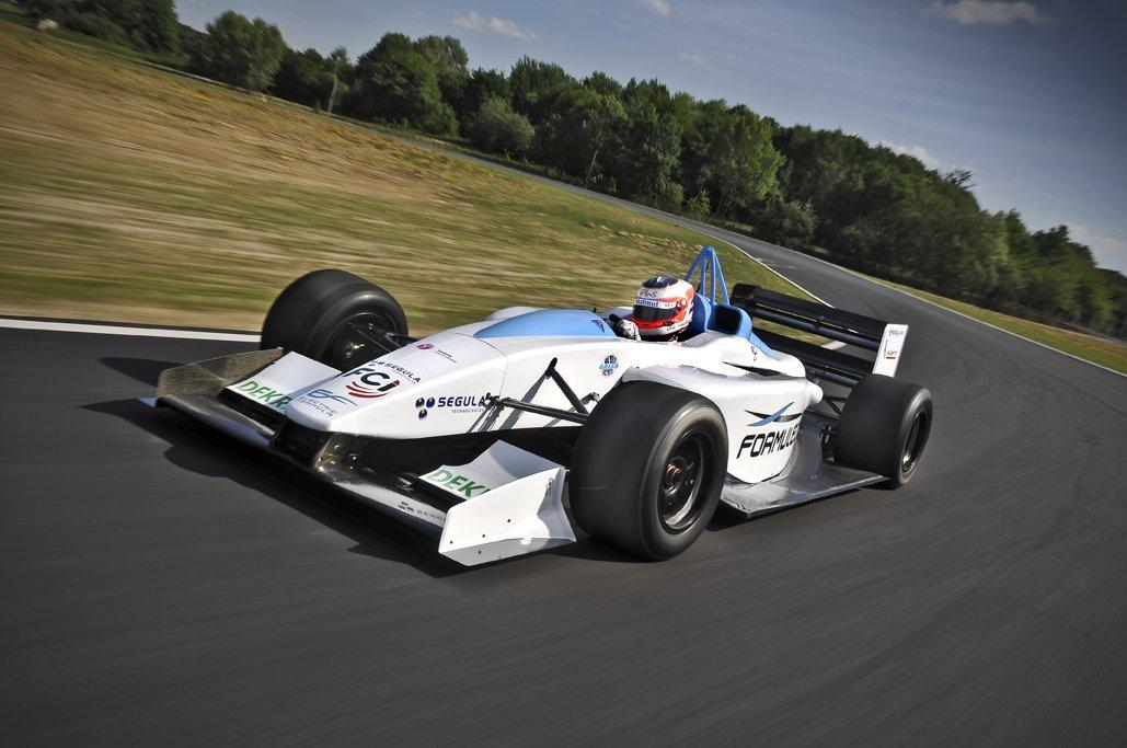 Formula E en carrera
