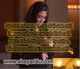Hindi Love Shayari -Sab Kuch Hai paas