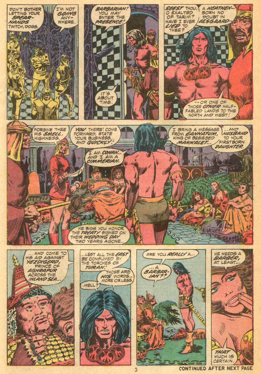 Conan the Barbarian (1970) Issue #23 #35 - English 4