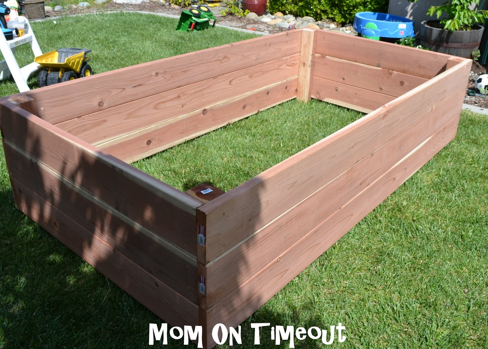 diy garden planter box tutorial. Black Bedroom Furniture Sets. Home Design Ideas