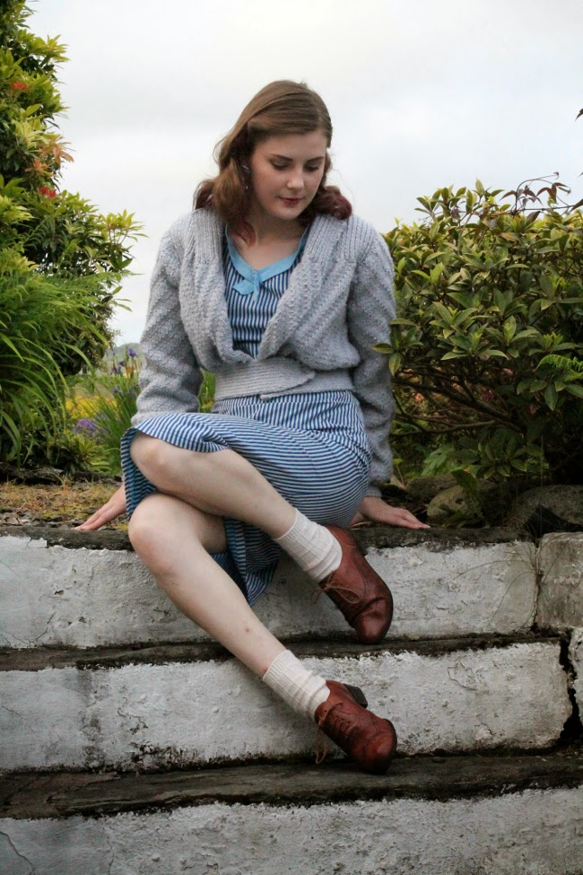 date-maker cardigan via lovebirds vintage