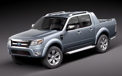 2012 Ford Ranger Concept