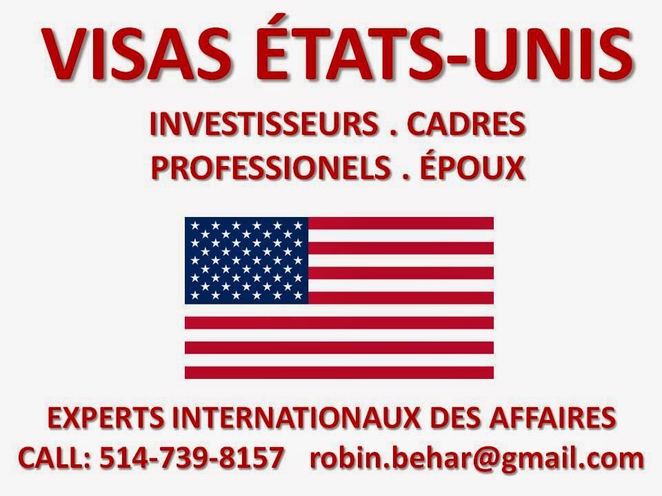 VISAS D'AFFAIRES ÉTATS-UNIS