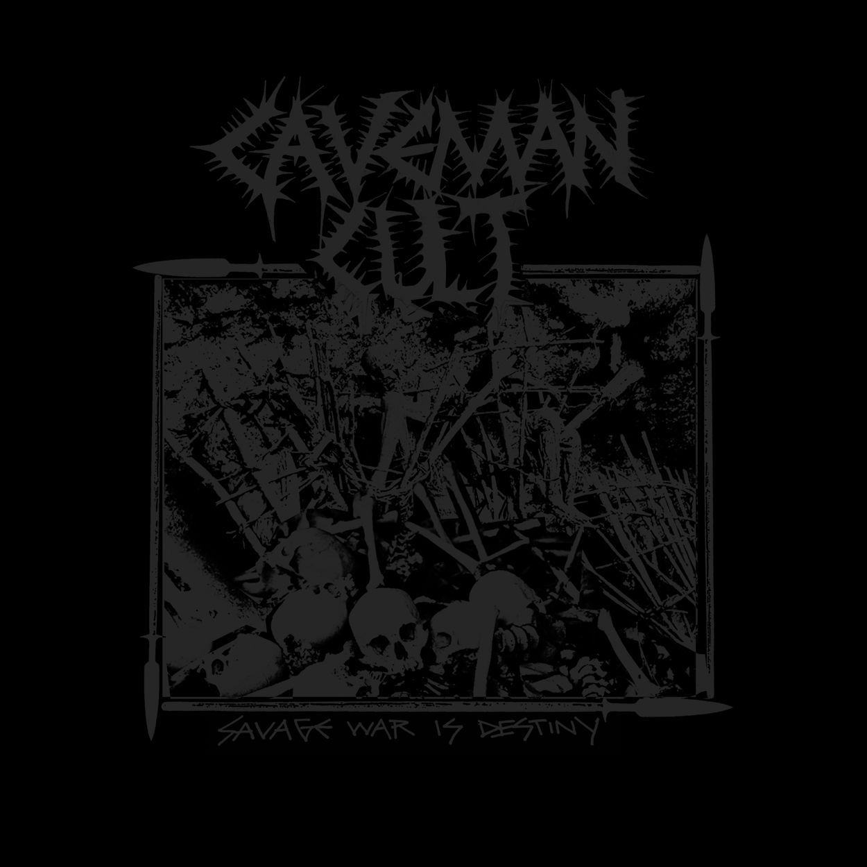 "CAVEMAN CULT ""Savage War Is Destiny"" CD 9.99"
