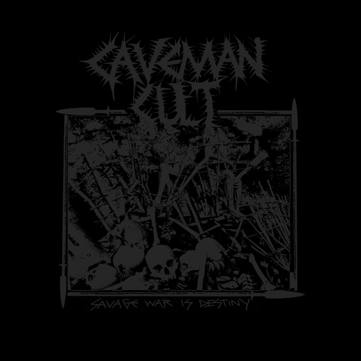 "CAVEMAN CULT ""Savage War Is Destiny"" CD 9.99"