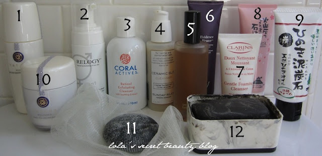 lola's secret beauty blog: By Request: My Stash of Facial Cleansers