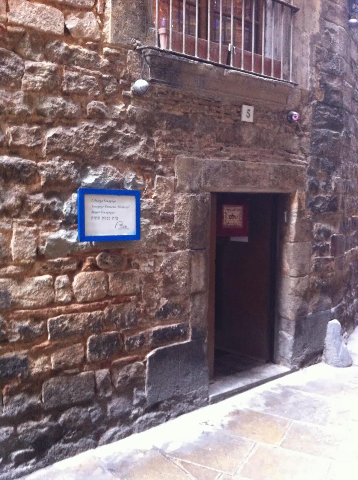 sinago barcelona mundobarcino judios