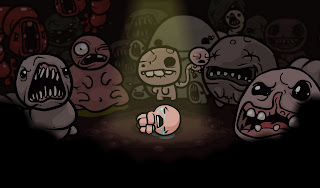 Isaac surround of monsters in Binding of Isaac from Team meat