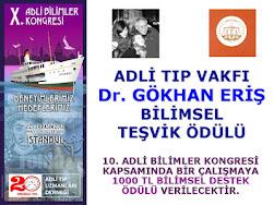 Dr. GÖKHAN ERİŞ BİLİMSEL TEŞVİK ÖDÜLÜ 2012