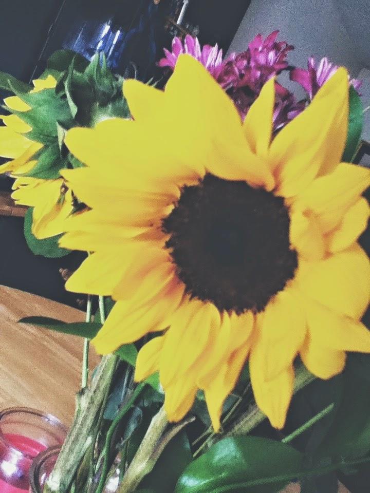 life is a gift like fresh cut flowers.