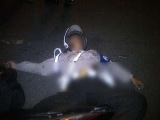 Bripka Sukardi ditembak di depan KPK (foto detik)