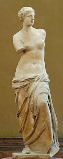 Venus de Milo o Afrodita. Escultura Helenistica. Grecia. Escultura Griega