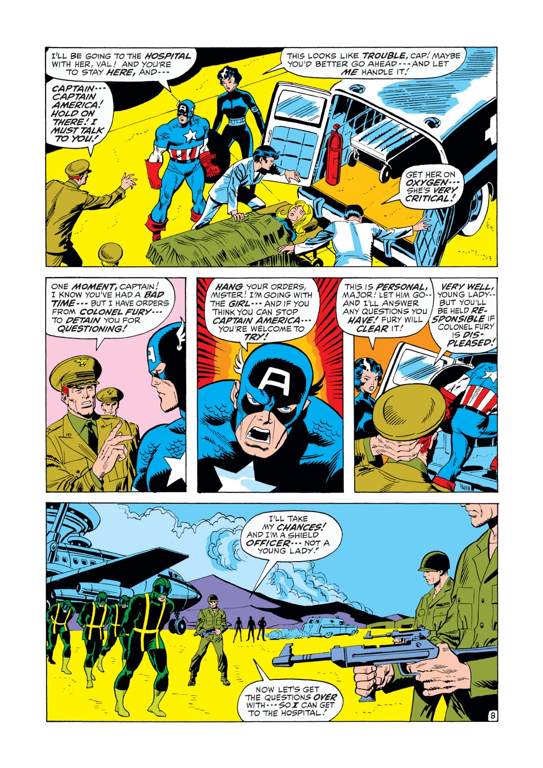 Captain America (1968) Issue #146 #60 - English 9