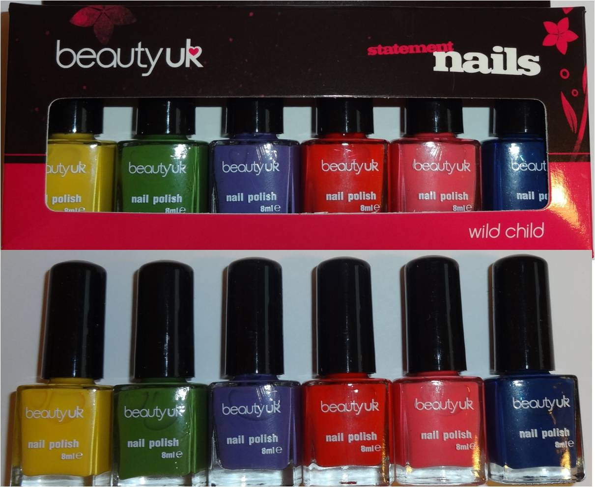 Wendy\'s Delights: Beauty UK - Wild Child Nail Polish Set