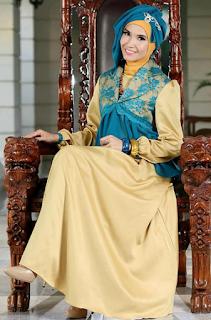 Model Busana Pesta Muslim untuk Remaja Modis