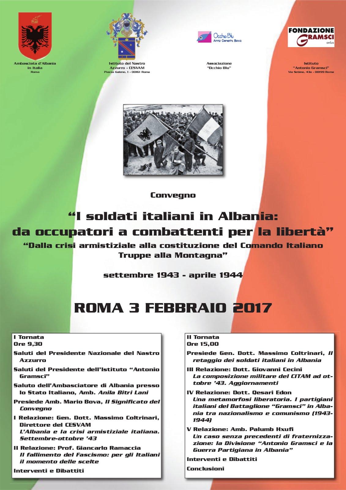 Roma. Venerdì 3 Febbraio 2017 ore 9