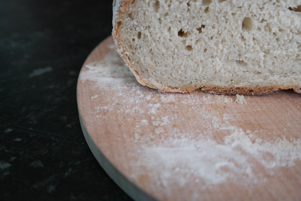 Cooking for a (Pregnant) Vegetarian - Homemade Bread