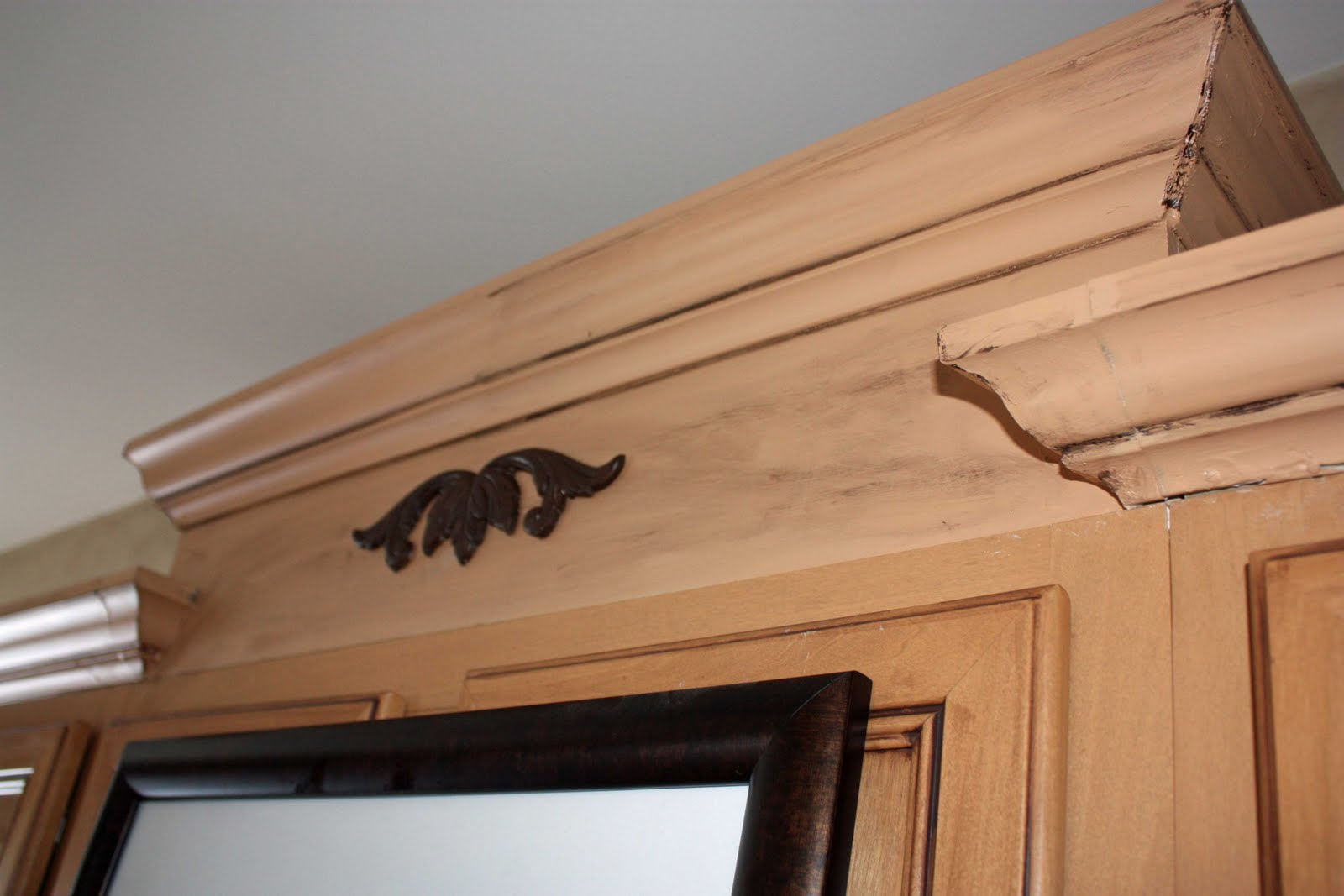 Transforming Home How To Add Crown Molding To Kitchen Cabinets