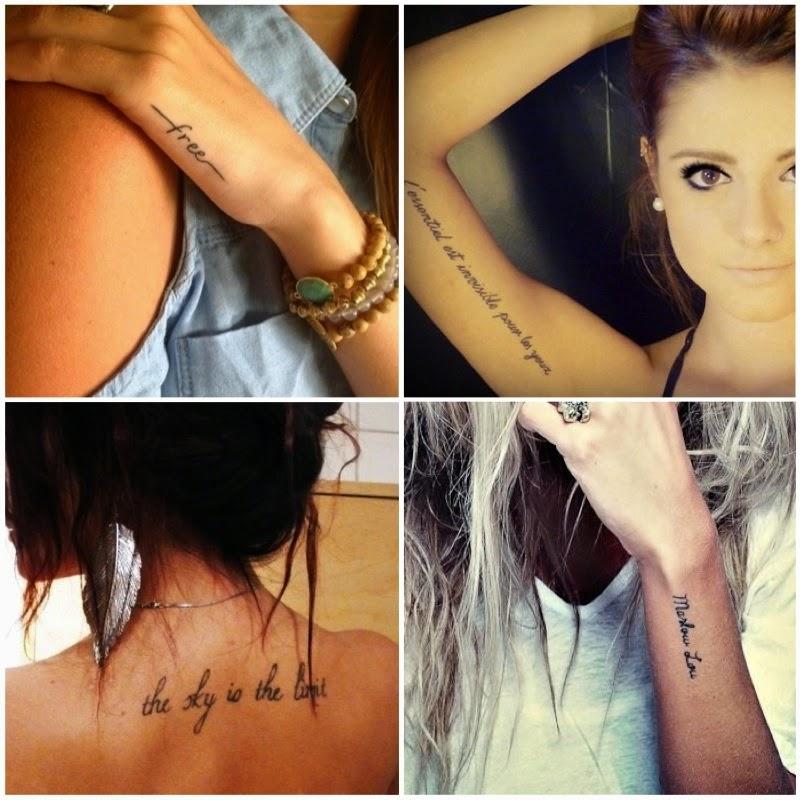 Frases de tattoo no braço