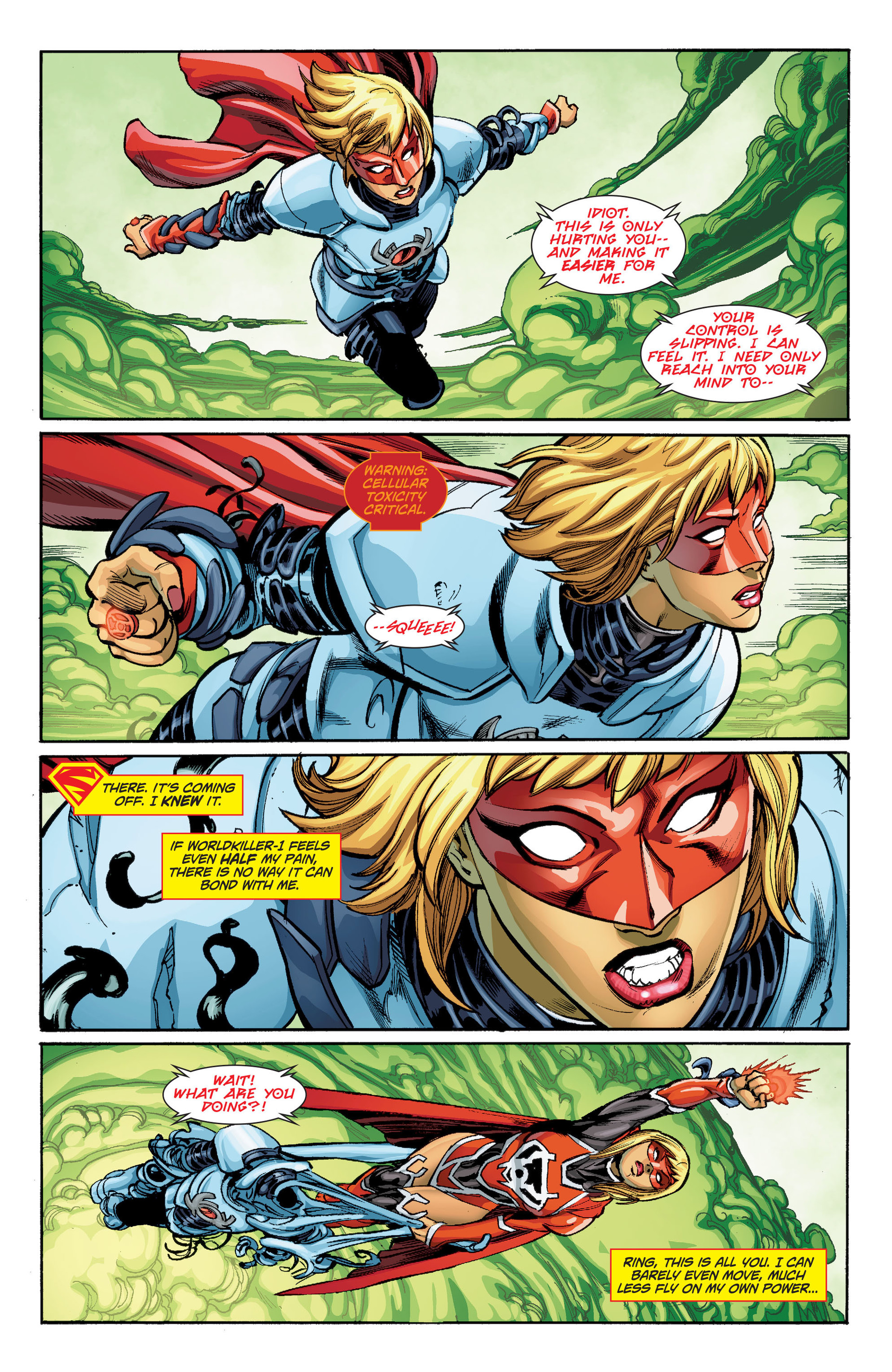 Supergirl (2011) Issue #33 #35 - English 12