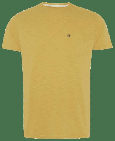 Camiseta amarilla para hombre de la colección Farrell de Primark