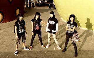 Stregoica Band Female Rules Hardcore Metal Jember Jawa Timur Foto Wallpaper