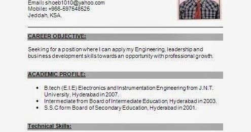 electronics and instrumentation fresher resume - Instrumentation Engineer Sample Resume