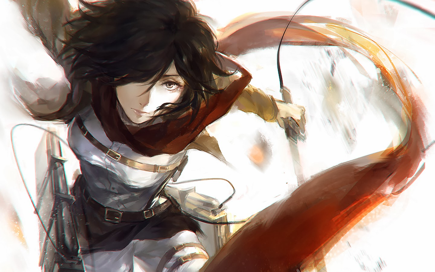 mikasa Attack ackerman titan sexy on