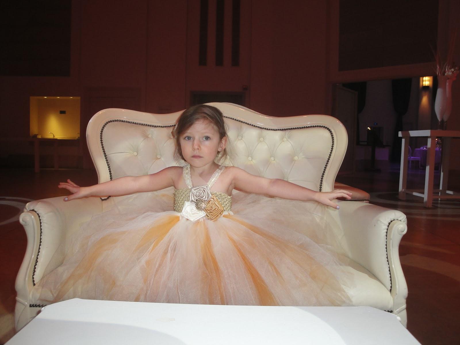 Hollywoodtutu dresses rustic gold flower girl tutu dress