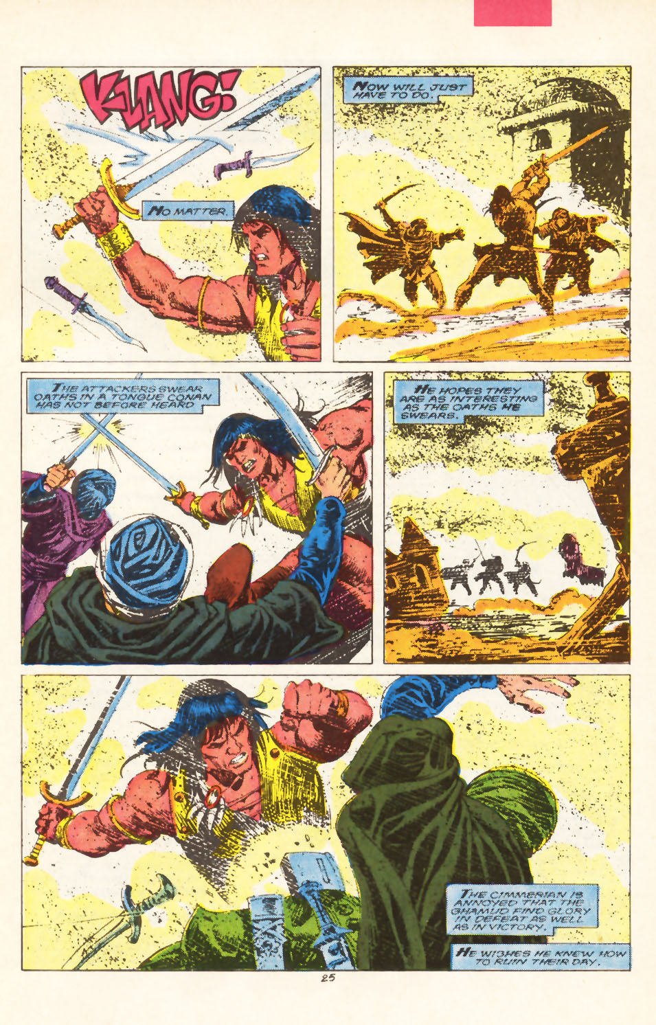 Conan the Barbarian (1970) Issue #211 #223 - English 20