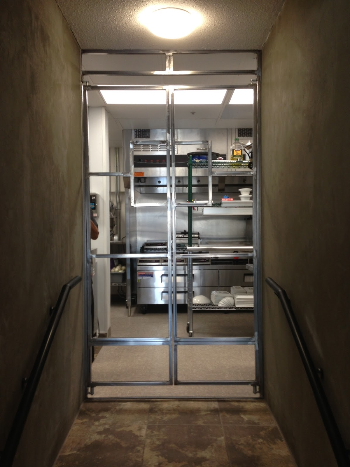 Restaurant Kitchen Dining Swinging Entry Doors Dezert