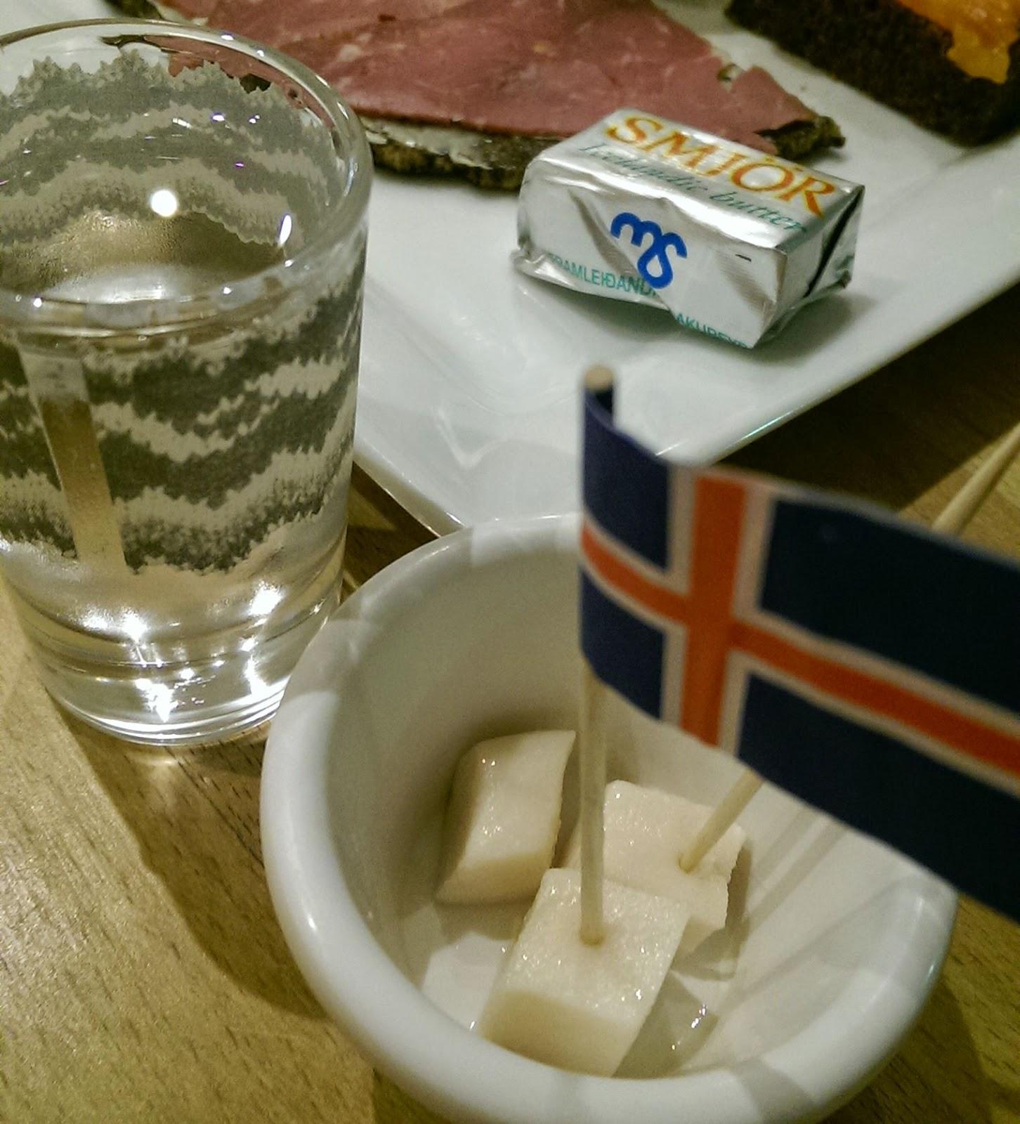 Hakarl at Cafe Loki, Reykjavik