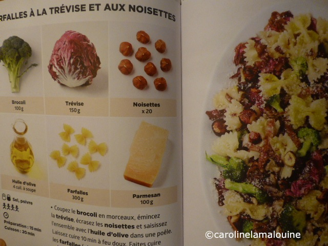 Carolinelamalouine simplissime le livre de cuisine le for Livre de cuisine hachette