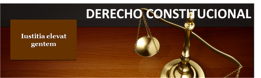 DERECHO CONSTITUCIONAL