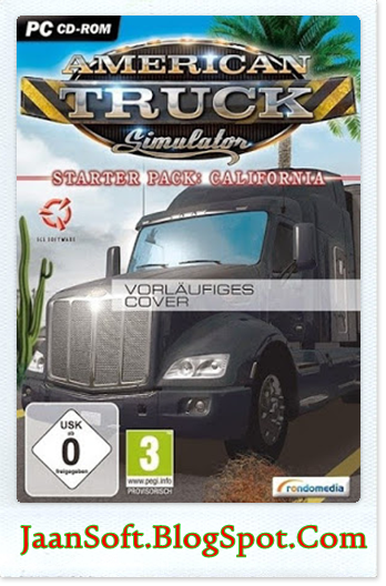 American Truck Simulator 2015 For PC Free Download