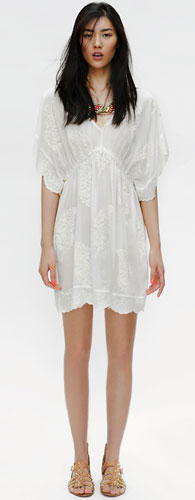 vestidos blancos primavera verano 2012