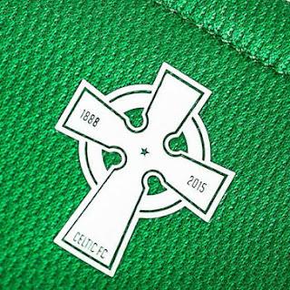 enkosa sport gambar photo terbaru jersey musim depan Detail Logo belakang Jersey celtic away New Balance musim 2015/2016