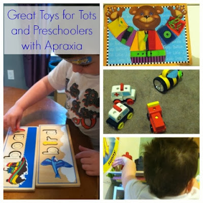 toys for children with apraxia of speech