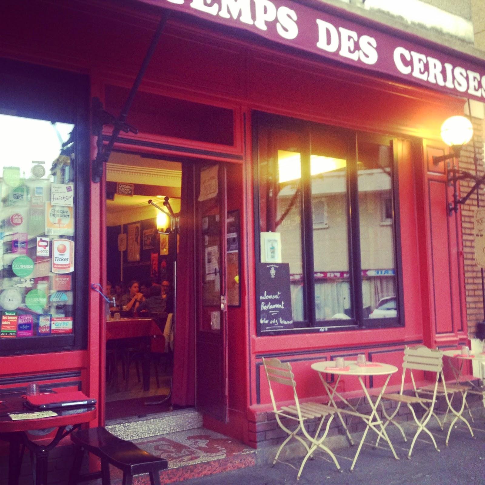 La butte aux cailles paris resto le temps des cerises - Restaurant buttes aux cailles ...