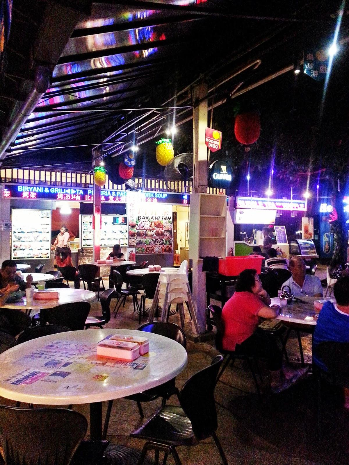 Venoth 39 s culinary adventures neighbourhood food court for Food bar kota damansara