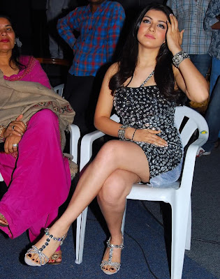Hansika Motwani Hot Thigh Show Latest Photos