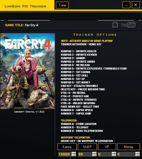 Far Cry 4 Trainer Games LinGon